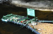 Bandalong Litter Trap in the Satilla River, Close-Up