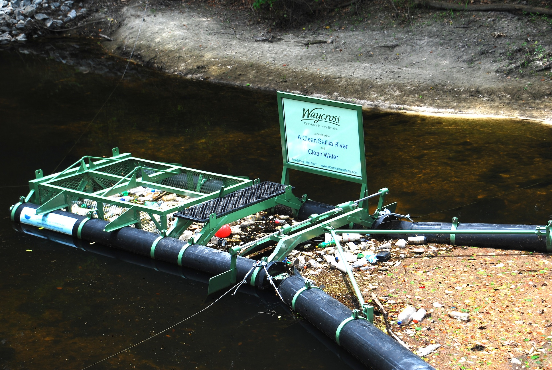 Waycross, Georgia Shares Their Experience with the Bandalong Litter Trap