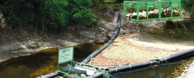 The Bandalong Litter Trap in Waycross, Georgia features a unique lift-out basket