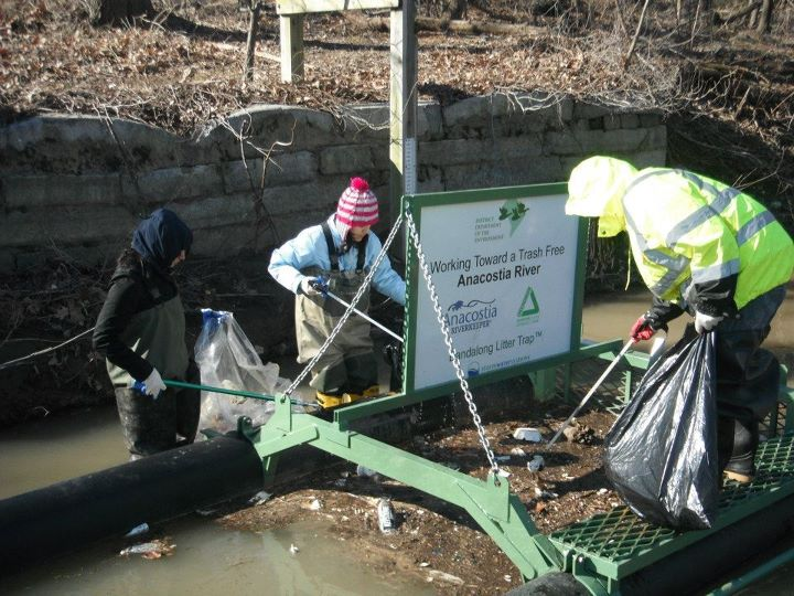 Cleaning The Anacostia