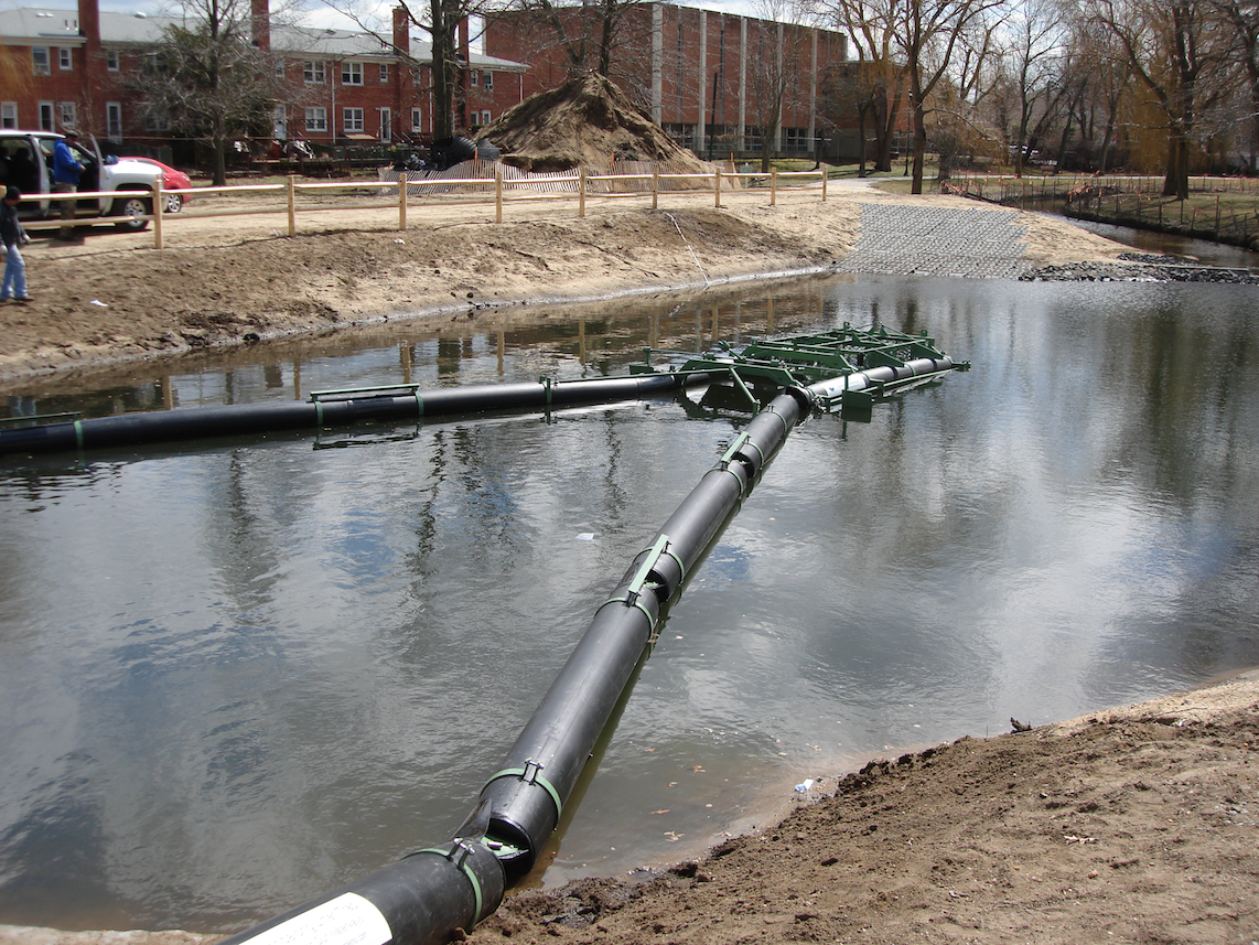 First Bandalong Litter Trap in New York State Installed in Village of Valley Stream