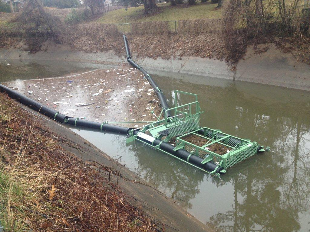 First Bandalong Litter Trap in Louisiana Installed in Lafeyette