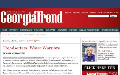 Storm Water Systems Featured in GeorgiaTrend