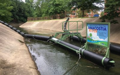 Storm Water Systems' Bandalong Litter Trap Successfully Removes Litter from the Anacostia River Watershed